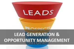 Lead Generation & Opportunity Management